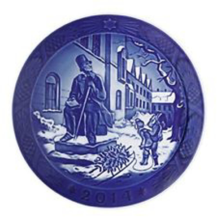 Picture of 2014 Royal Copenhagen Christmas Plate