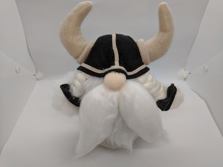 "Picture of Plush Viking Gnome,10"" tall"