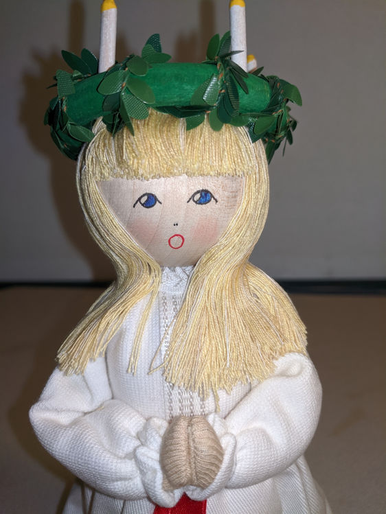 Picture of St. Lucia Wooden Doll