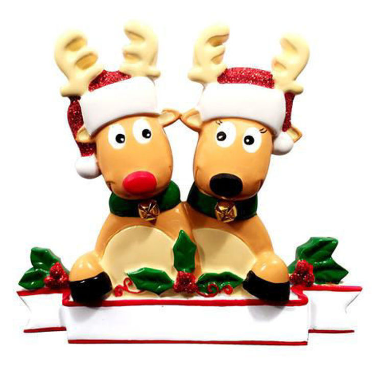 Picture of Reindeer Couple