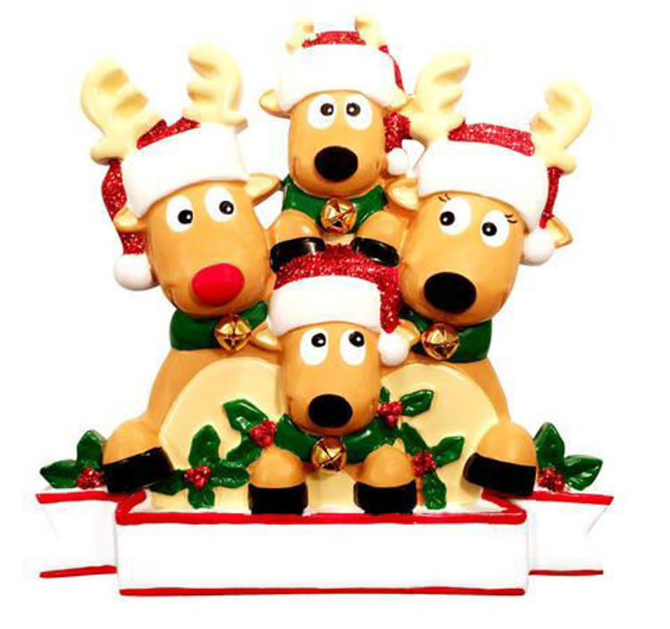 Picture of Reindeer Family of 4