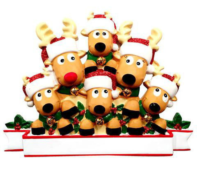 Picture of Reindeer Family of 6