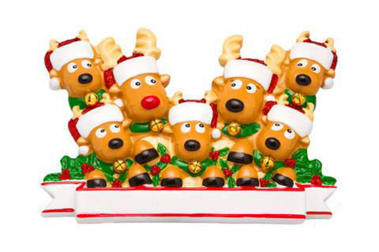 Picture of Reindeer Family of 7