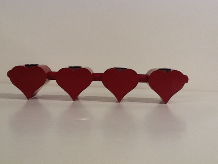 Picture of Swedish Heart Candle Holder