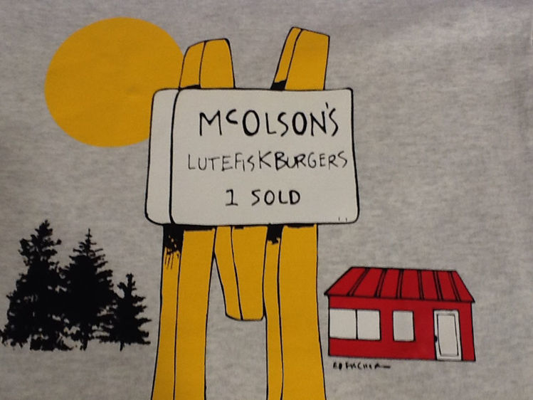 Picture of McOlson's Grey T-Shirt