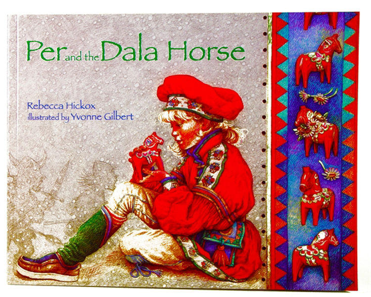Picture of Per and the Dala Horse, by Rebecca Hickox