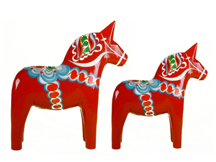 Picture of Wooden Dala Horse