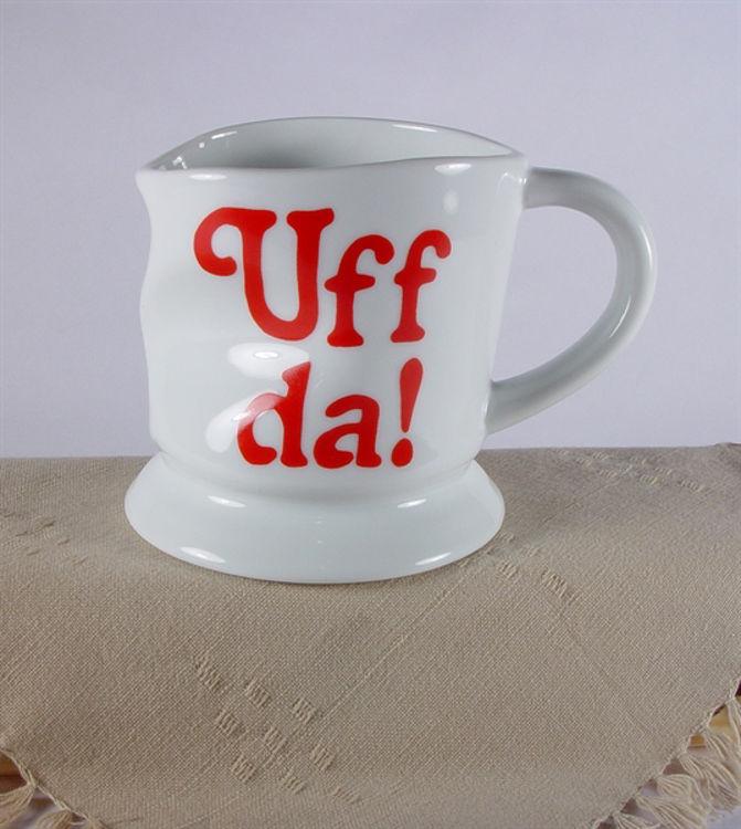 Picture of Uff Da Smashed Mug (rightside)