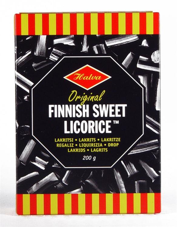 Picture of Halva Finnish Licorice Candy
