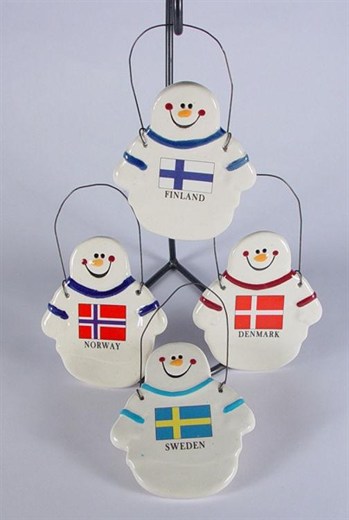 Picture of Ceramic Snowman