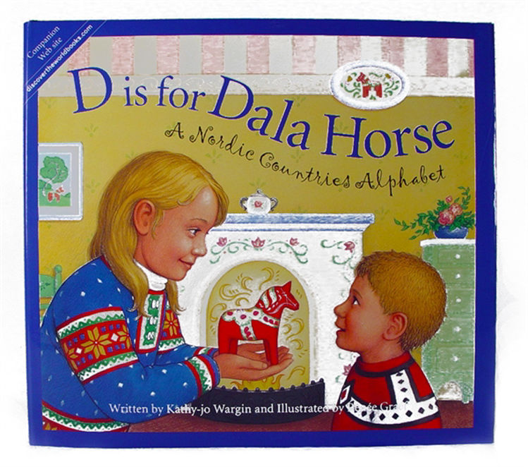 """Picture of """"D"""" is for Dala Horse Book"""