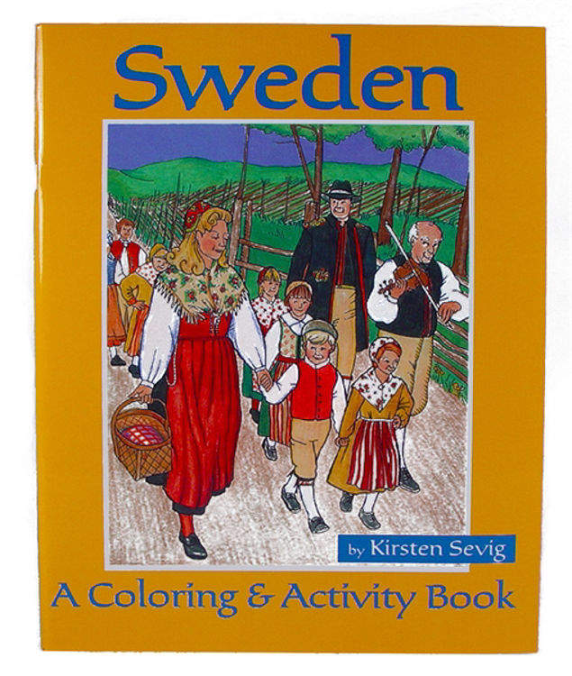 Picture of Coloring  and Activity Book (Sweden)