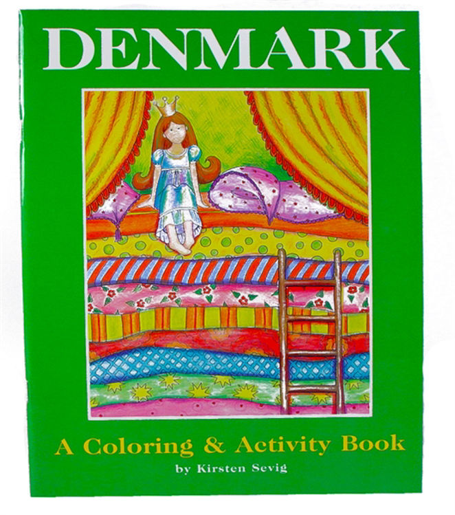 Picture of Coloring  and Activity Book (Denmark)