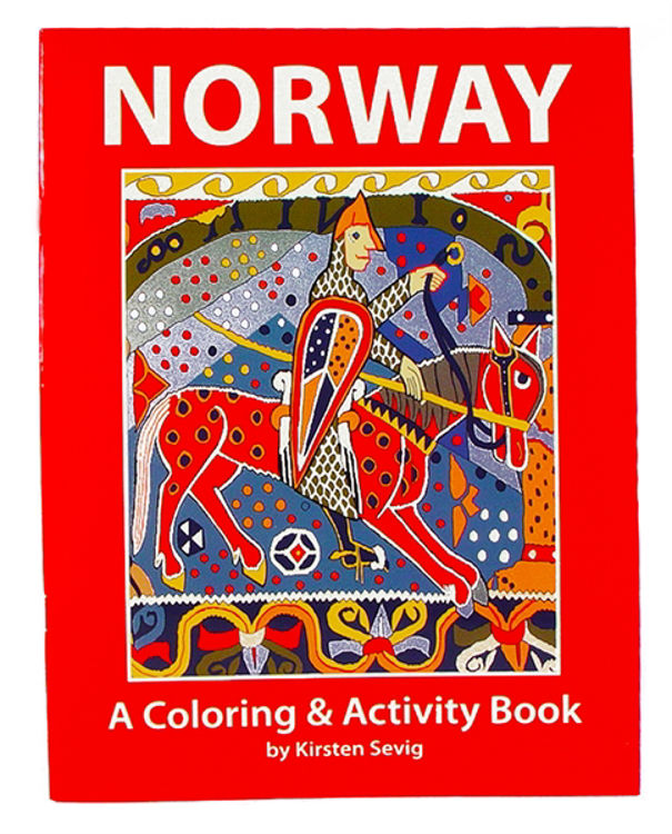 Picture of Coloring  and Activity Book (Norway)