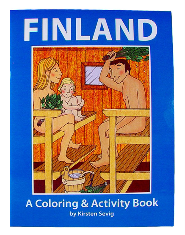Picture of Coloring  and Activity Book (Finland)