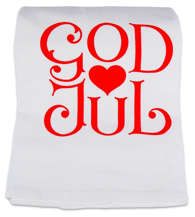 Picture of God Jul Dish Towel