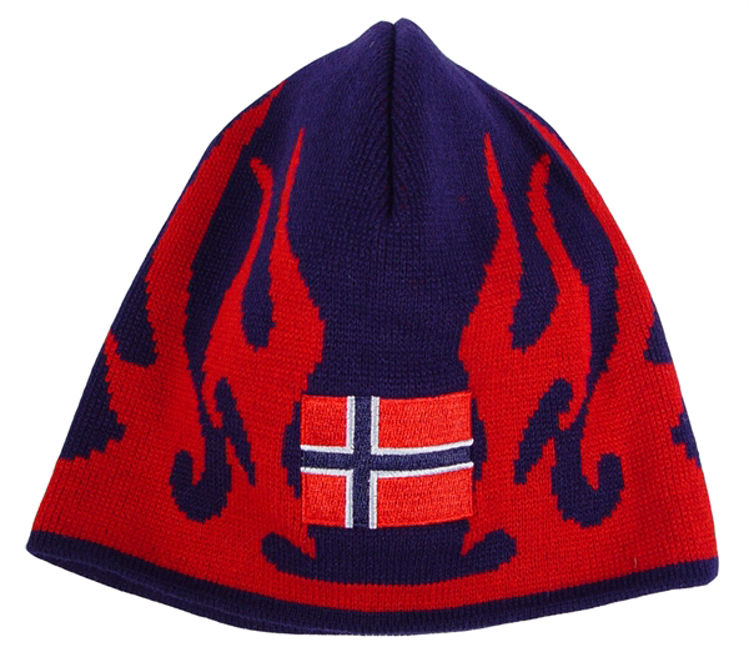 Picture of Norwegian Cap with Flames