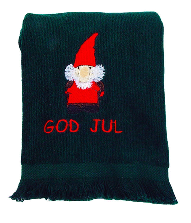 Picture of God Jul Tomte Guest Towel