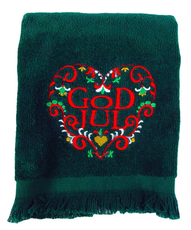 Picture of God Jul Guest Towel