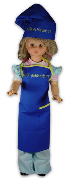 Picture of Lil' Swedish Chef Apron and Hat set