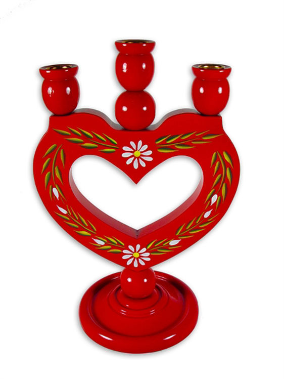 Picture of Candle Holder (Heart)