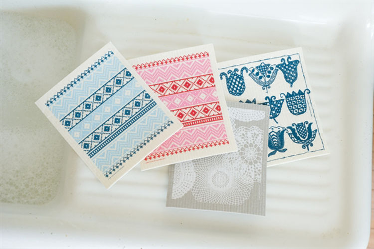 """Picture of Swedish Dishcloth """"Assorted Styles"""""""