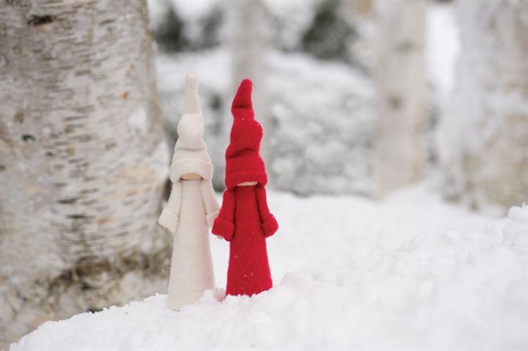 Picture of Finnish Cloaked Tonttu