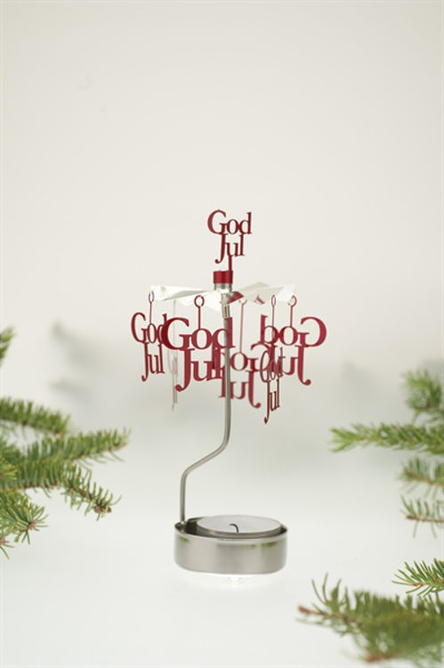 Picture of Pluto God Jul Rotary Candle Holder