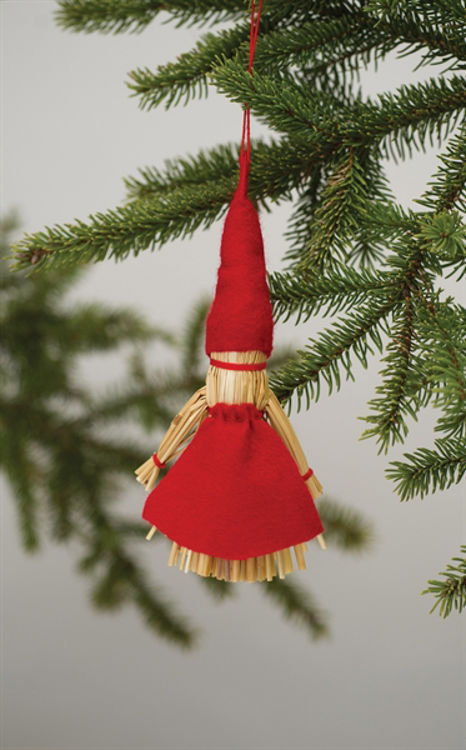 Picture of Finnish Straw Ornament