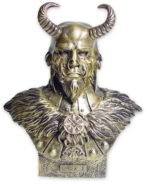 Picture of Viking Statue (Loki)