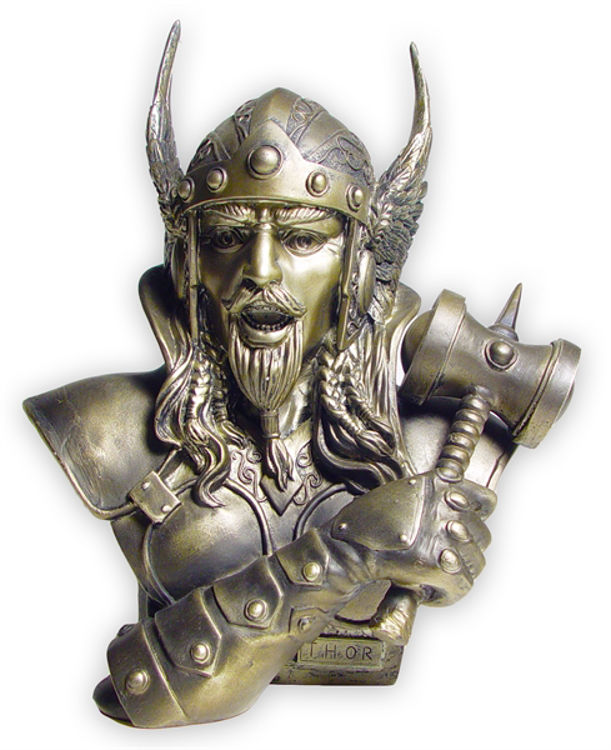 Picture of Viking Statue, Thor