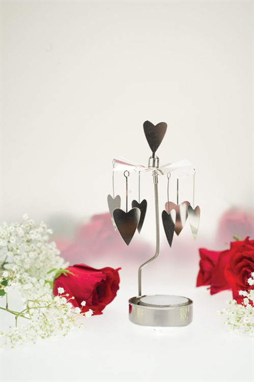 Picture of Pluto Hearts Rotary Candle Holder