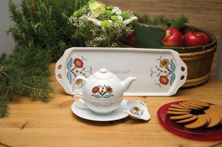 Picture of Swedish Flower Ceramics (Var sa God)