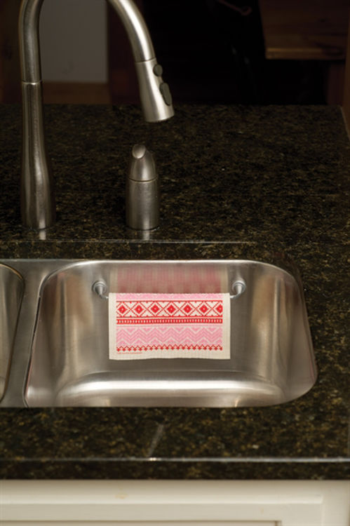 Picture of Danish Magnetic Dishcloth Rail