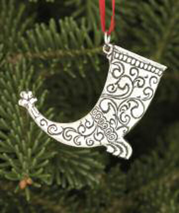 Picture of Norwegian Pewter Skal Ornaments