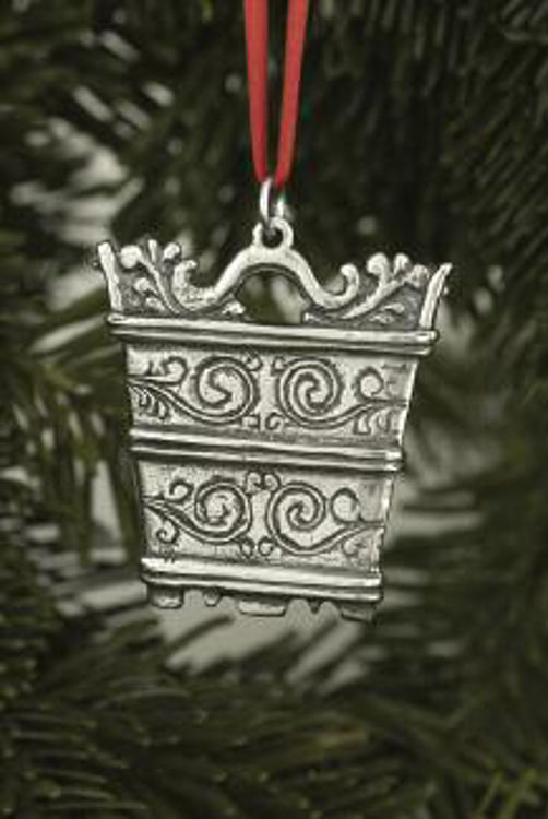 Picture of Norwegian Pewter Ornaments, Butter Bucket