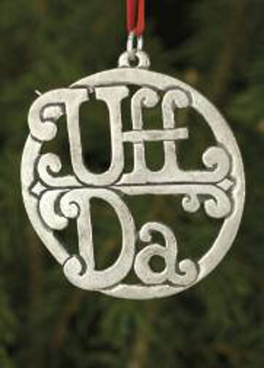 Picture of Pewter Uff Da Ornament