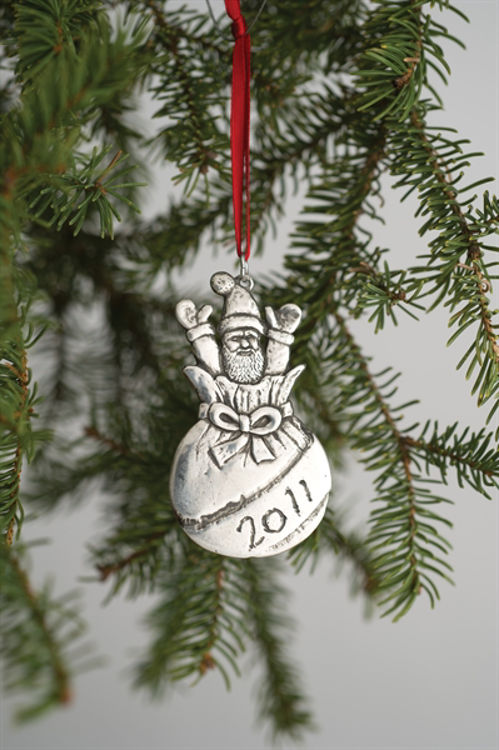 Picture of Norwegian 2011 Pewter Ornament