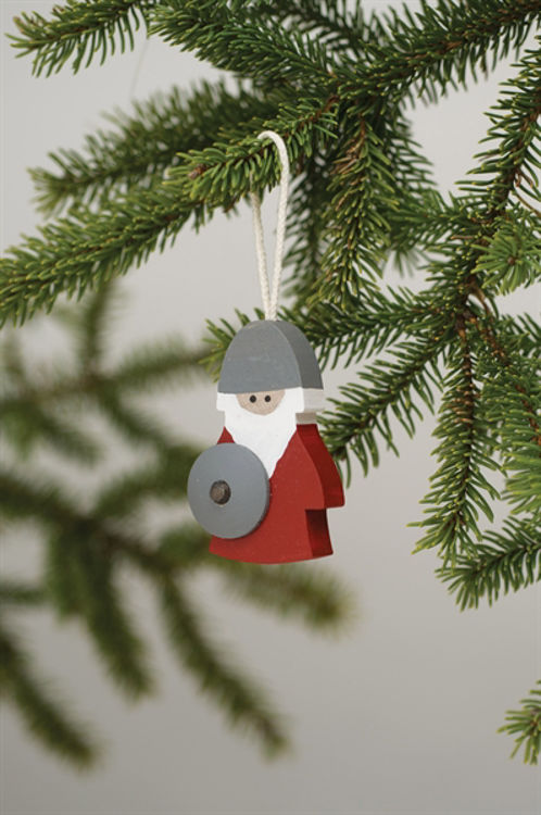 Picture of Wooden Viking Ornament
