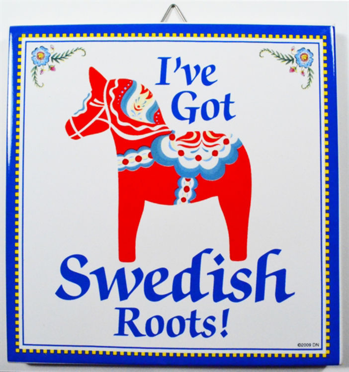 Picture of I've got Swedish Roots...Swedish Tile