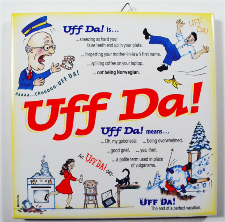 Picture of Uff Da!.....Norwegian Tile