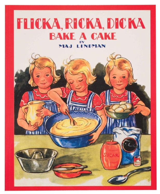 Picture of Flicka, Ricka, Dicka Bake a Cake Book