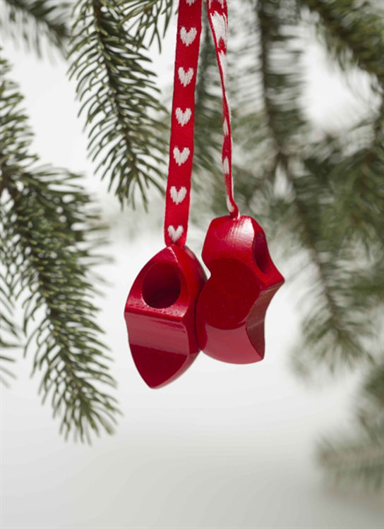 Picture of Wooden Clog Ornament