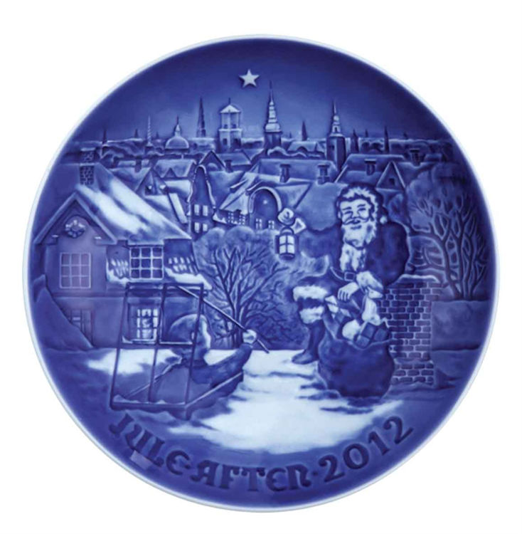 Picture of Bing & Grondahl 2012 Christmas Plate