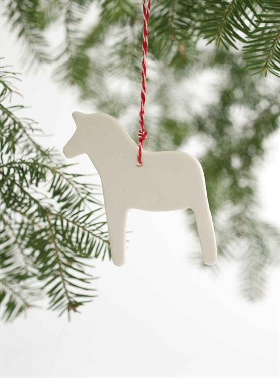 Picture of Porcelain  Danish Ornament, Dala Horse