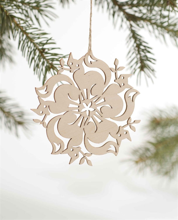 Picture of Laser-Cut Kaleidoscopic Ornaments