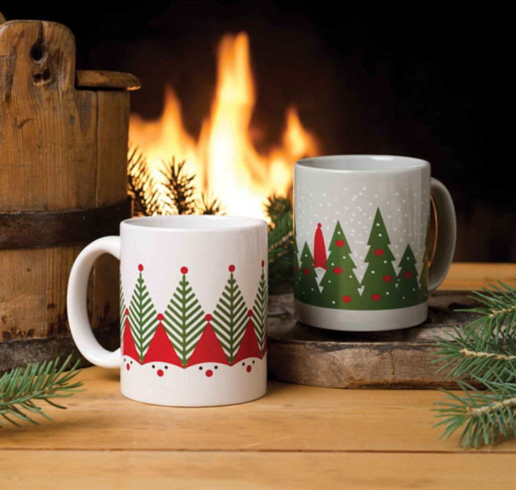 Picture of Nordic Accent Mugs