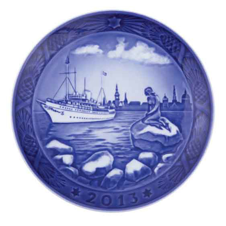 Picture of Royal Copenhagen 2013 Christmas Plate