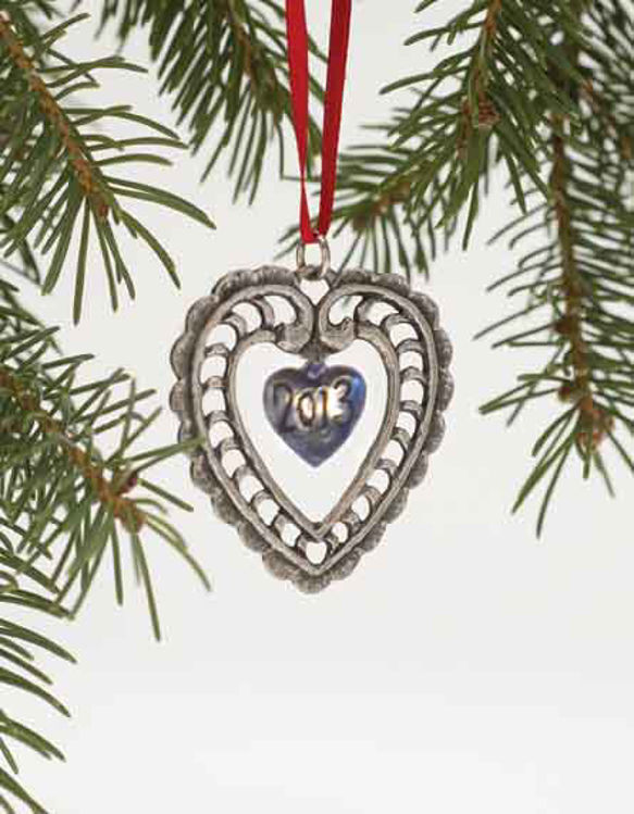 Picture of Norwegian 2013 Pewter Ornament