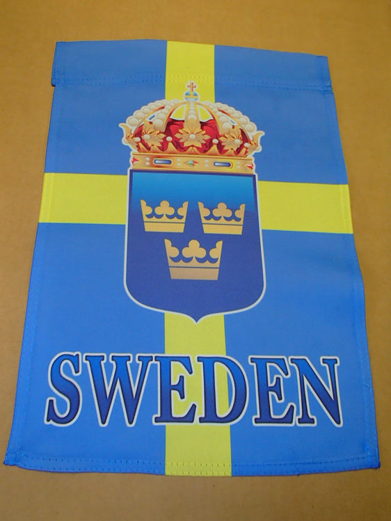 Picture of Swedish garden flag